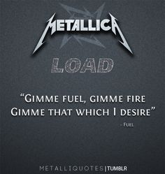 More Metallica quotes here!