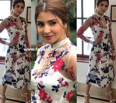 Anushka Sharma in Memanth and Nandita   Fashionworldhub