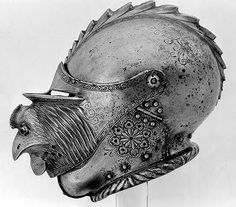 Helmet, Germany, 1540       Via unhistorical.tumblr.com