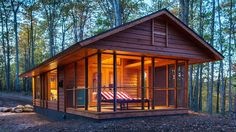 The Escape Cabin is a tiny house on wheels. It can be set up in hours, and with a full-sized tub, fridge, and king bed, it's making portable homes places you want to live.