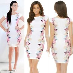 """✨ALL SIZES✨ White Sheath Floral Dress Gorgeous floral dress, perfect for spring and summer. Please check Measurements below:            S - Bust 17"""" Hips 17.5"""" Length 36.5"""" M - Bust 17.5"""" Hips 18"""" Length 37"""" L - Bust 18.5"""" Hips 19"""" Length 37.5"""" XL - Bust 19"""" Hips 19.5"""" Length 37.5"""" Boutique Dresses Midi"""
