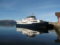 Norway's floating library. The Epos brings books to coastal communities.