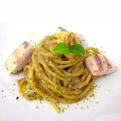 pasta-con-crema-di-melanzane-grigliate-e-palamita