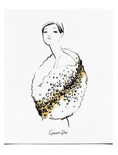 Le Glamour Poster, 8x10 or 11x14 / Garance Doré