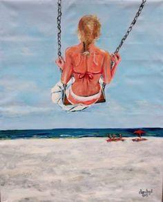 """""""Beach Swing Fantasy"""" by Dan Byl"""