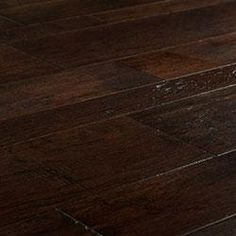 Vanier Engineered Hardwood - Blended Width Chiseled Hickory Collection Banf / Hickory / Random