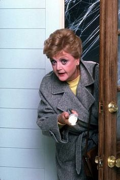 MURDER, SHE WROTE    Sure, some of them are cheesy, but I love Angela Lansbury as Jessica Fletcher. My dad and I watch these all the time.
