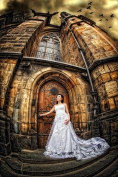 Photograph Dracula& Castle Wedding by Pavel-Photo Studio on Dracula Castle, Eastern Europe, Photo Studio, Bridal Style, Wedding Photography, Romantic, Wedding Dresses, Inspiration, Cathedrals