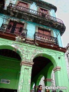 Archways and Balconies - Favorite feature in architectural detail in Cuba.