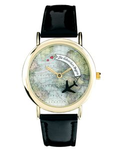 Taking wanderlust to another level <3  ASOS rotating globe adventure watch http://rstyle.me/~zT9X