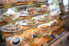 Sugar trail: Kyoto's Kitayama district is heaven for the sweet of tooth. A selection of dacquoise and cakes at ClienTele.