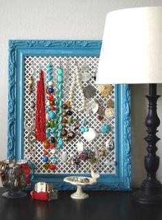 radiator-grill-photo-frame-jewelry-display