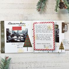 December Mini Book Layout by Heather Nichols for Papertrey Ink (November 2017)