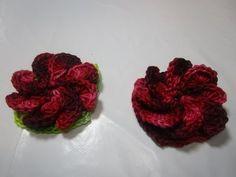 Croche Flor Margaridinha receita passo a passo pap como fazer crochet ganchillo flowers curt - YouTube