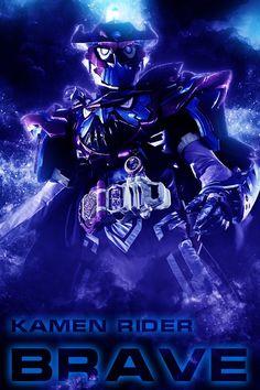 Kamen Rider Brave Smartphonne wallpaper by phonenumber123.deviantart.com on @DeviantArt