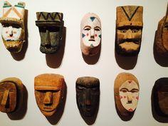 Máscaras guaraníes, Museo del Barro