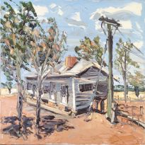 The Shearers Quarters - Plein Air