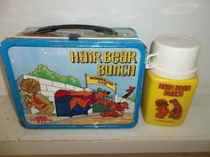 Hair Bear Bunch - used to watch this cartoon. 101 Vintage Lunch Boxes That Will Make You Want To Be A Kid Again