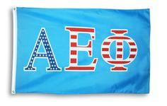 Alpha Epsilon Phi 3 X 5 USA Flag from GreekGear.com