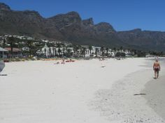 Stunning Camps Bay - hotspot of choice for many 'A-List' celebs!  Also home to amazing views over the 12 Apostles (backbone to Table Mountain), stunning beaches and vibrant beachfront bars and cafes!