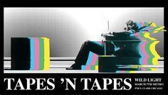 Tapes N Tapes poster for Chicago's Metro