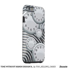 TIME WITHOUT HANDS DESIGN BY ARA TOUGH iPhone 6 CASE