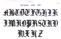 Typography - Alphabet - Ornamental, Renaissance, medieval (34).jpg (2554×1630)