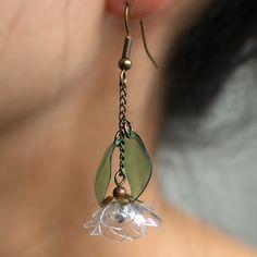 Plastic Earrings, Plastic Jewelry, Cute Earrings, Handmade Wire Jewelry, Recycled Jewelry, Animal Earrings, Animal Jewelry, Plastic Bottle Crafts, Plastic Bottles