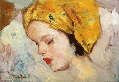 """Nicolae Tonitza, """"Child's Head"""" Cape, Old Things, Classic, Paintings, Expressionism, Portraits, How To Paint, Mantle, Cabo"""