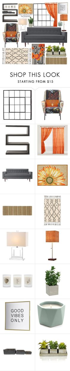 """""""Home decor"""" by rikadigimon13 ❤ liked on Polyvore featuring interior, interiors, interior design, home, home decor, interior decorating, Andrew Martin, Cost Plus World Market, Design Within Reach and Improvements"""