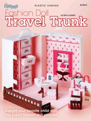 Fashion Doll Travel Trunk - Electronic Download