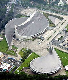 National gymnasiums in Tokyo. wonder if anyone has played some floorball here