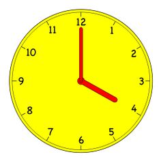 Telling time I - hours