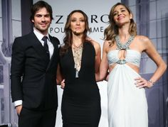 Ian Somerhalder, Sabrina Parlatore e Ana Beatriz Barros (Foto: Manuela Scarpa/Photo Rio News)