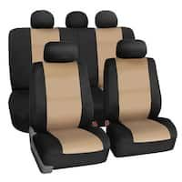 Airbag Compatible and Split Bench Green FH Group FB036GREEN115 Seat Cover