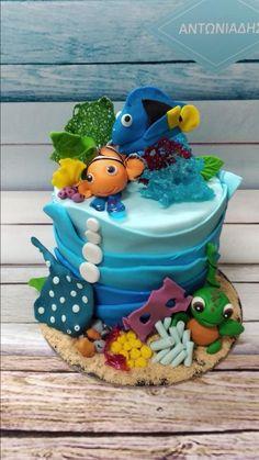 Nemo Summer Cakes, Birthday Cake, Children, Desserts, Food, Young Children, Tailgate Desserts, Birthday Cakes, Boys