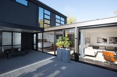 Box™ is an NZIA architectural practice & Registered Master Builder. Building Design, Building A House, Boxing Live, Post And Beam, Architecture Plan, Prefab, Custom Design, Floor Plans, House Design
