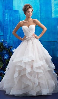 Allure Bridals Wedding Dress Inspiration