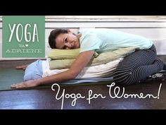 I haven't watched the video but she looks so comfortable:)▶ Yoga for Women - Menstruation Sequence - YouTube
