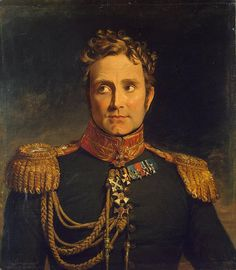 Alexandre Michaud, Count of Beauretour, French officer who fought for Russia during the Napoleonic Wars (George Dawe, c. 1820).