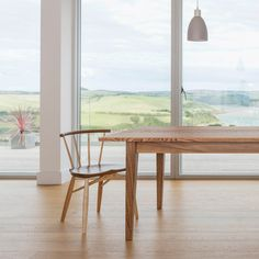 The Weaveley table from Orpago is handmade to order to bespoke dimensions in a selection of timbers and finishes. Dining Tables, Dining Bench, Handmade Table, Bespoke, British, Interiors, Interior Design, Furniture, Collection