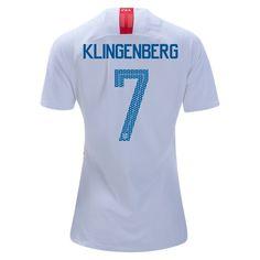 2018 2019 Meghan Klingenberg Jersey Home Women s USA National Team Soccer  City 4805478b6