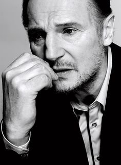 There are two kinds of people in this world: those that like Liam Neeson and those that love him. So true! Truly amazing, wanted to name my son after him. Schindler and more! Quiet intelligence