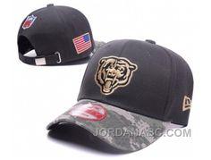 Men s   Women s Chicago Bears New Era NFL On-Fields Digital Camo Visor  Adjustable Baseball Hat - Black   Gold 4defbbd71