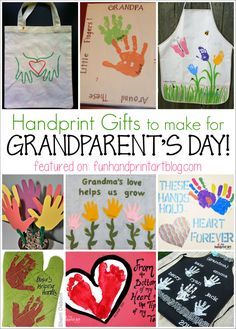 12 Handprint Ideas To Make Grandma For Grandparents Day