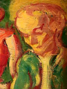 """BERNARD Emile,1887 - Au Cabaret (Orsay) - Detail 24  -  TAGS/ art painters peintres details détail détails detalles painting paintings peintures """"peintures 19e"""" """"19th-century paintings"""" tableaux Museum Paris France women woman fille girl girls """"jeune femme"""" """"young woman"""" """"young women"""" drink danse dance nightclub  night nuit dancer courtesan buveurs drinkers bottle bouteille verres glass man men hommes people fête feast auberge inn couple lovers amoureux amour love sultry sensual erotism…"""