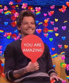 One Direction Humor, One Direction Pictures, Larry Stylinson, Reaction Pictures, Funny Pictures, Daily Mood, Louis Tomlinsom, You Are Amazing, 1d And 5sos