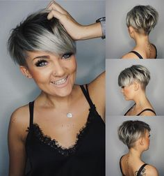 Layered Pixie with Undercut