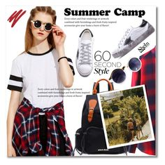 """""""60-Second Style: Summer Camp"""" by svijetlana ❤ liked on Polyvore featuring NARS Cosmetics, summercamp and 60secondstyle"""