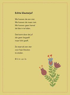 kleuterjuf gedich erik van os. Op de juf malmberg site (oktober 2015)